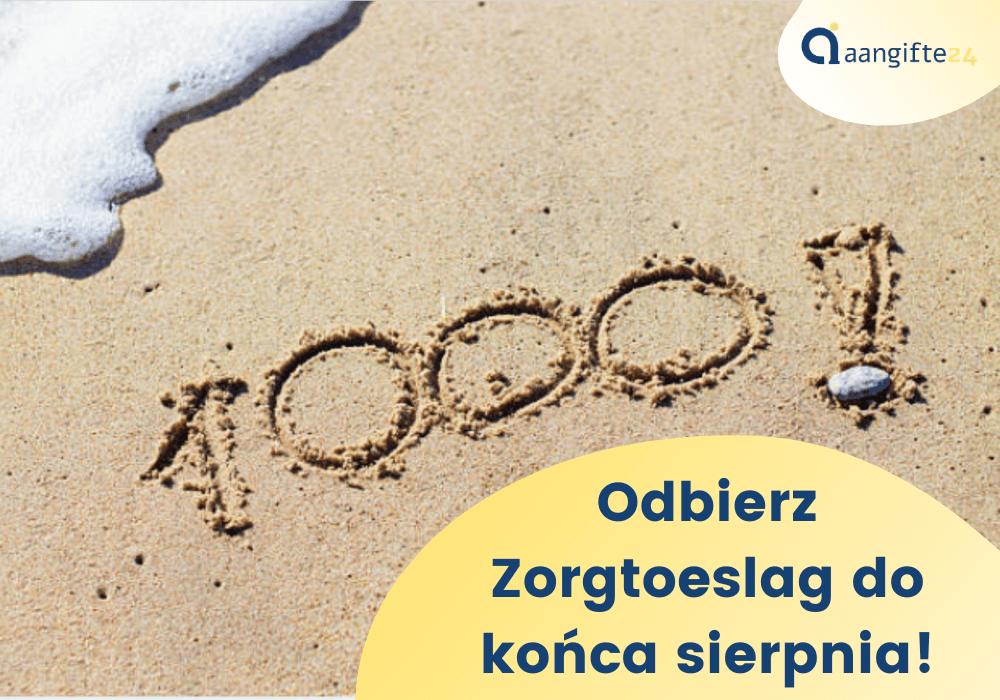 100 euro dofinansowania z holandii