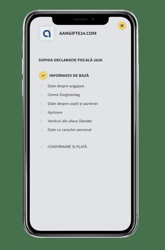 aangife romana 1 app