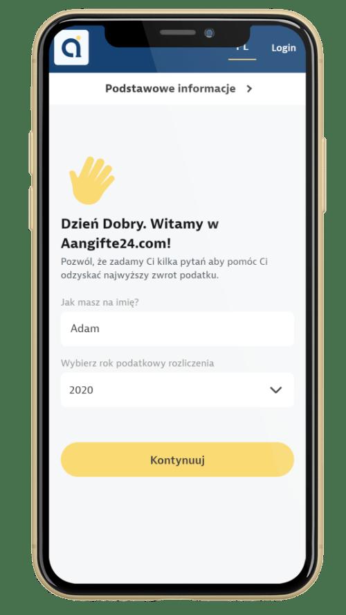 Zwrot podatku z Holandii z AplikacjÄ… Aangifte