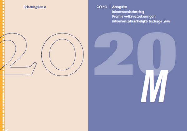 M-Biljet 2020 Belastingdienst - PDF formular iz ureda za preuzimanje